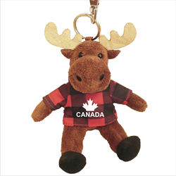 Zipper Pull - Moose - CANADA Red Jack