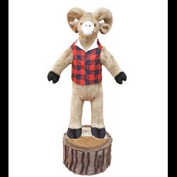 6' Character Ram on Stump