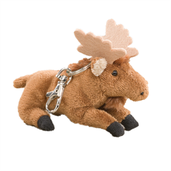 Zipper Pull - Natural Moose