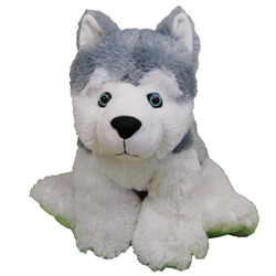 "20"" FloppyFoot Grey Husky"