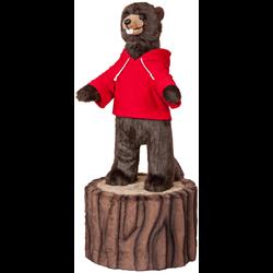 "36"" Character Beaver on 12"" Stump"