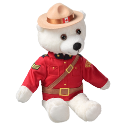 "11"" RCMP Sergeant Polar Bear"