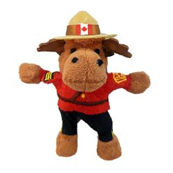 "Magnet - 4.5"" RCMP Moose"