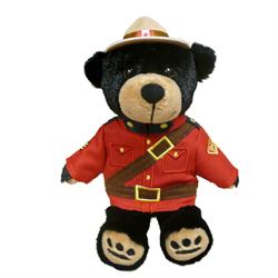"8"" RCMP Sergeant Black Bear"
