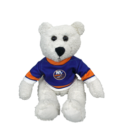 "10"" Curly Critter Polar Bear - New York Islanders"