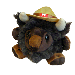 "4.5"" RCMP Character Buddies Buffalo"