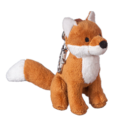 Zipper Pull - Natural Red Fox