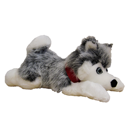 "12"" Floppy Grey Husky"