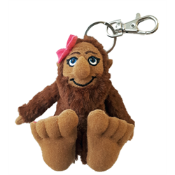 Zipper Pull- Miss BigFoot SheSquatch