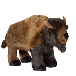 Display - Brown Baby Buffalo (on all fours)