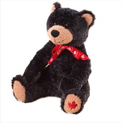 "9"" MapleFoot Sitting Black Bear Canada"