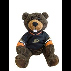 "10"" Curly Critter Beaver - Anaheim Ducks"