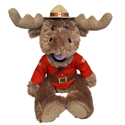 "14"" RCMP Sergeant Moose"