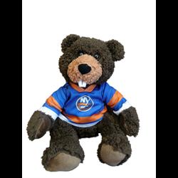 "10"" Curly Critter Beaver - New York Islanders"