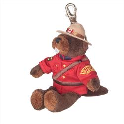 """Zipper Pull - 5"""" RCMP Beaver"""