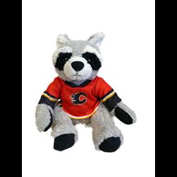 "10"" Curly Critter Raccoon - Calgary Flames"
