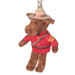 "Zipper Pull - 5"" RCMP Moose"
