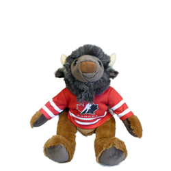 "10"" Curly Critter Buffalo - Hockey Canada"