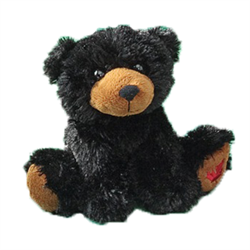 "7"" MapleFoot Black Bear"