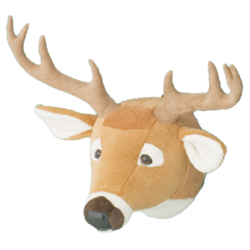 Wall Toy White Tailed Deer