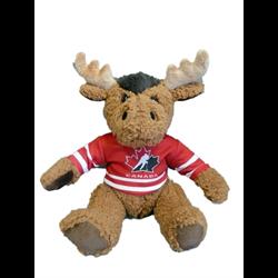 "10"" Curly Critter Moose - Hockey Canada"