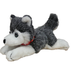 "7"" Floppy Grey Husky"