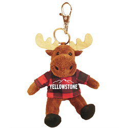 Zipper Pull-Moose- Red Jack Hoody-YELLOWSTONE & MTNS