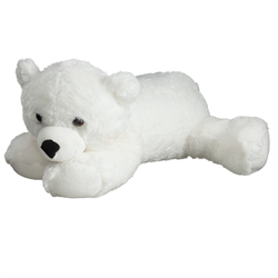 "30"" FloppyFoot Polar Bear"