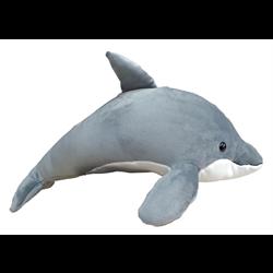 """18"""" Grey Dolphin"""