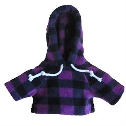 Large purple jack hoody