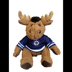 "10"" Curly Critter Moose - Winnipeg Jets"