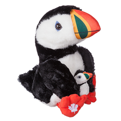 "11"" MapleFoot Puffin & Baby"