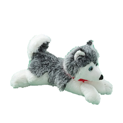 "9"" Floppy Grey Husky"