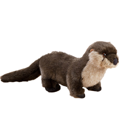 "9"" Natural River Otter"