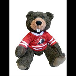 "10"" Curly Critter Beaver - Hockey Canada"