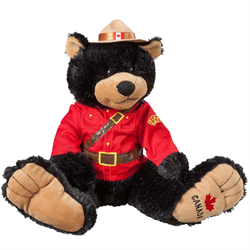 "14"" RCMP BigFoot Black Bear"