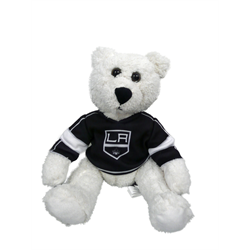"10"" Curly Critter Polar Bear - Los Angeles Kings"
