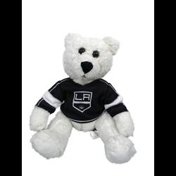 "10"" Curly Critter Polar Bear - Los Angeles Kings"