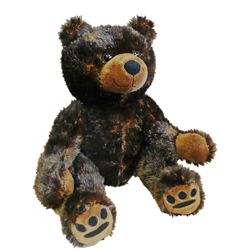 "12"" Cuddle Critter Grizzly"