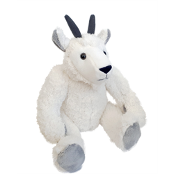 """10"""" Curly Critter Mountain Goat"""
