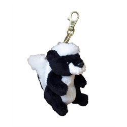 Zipper Pull - Natural Skunk