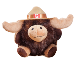 "4.5"" RCMP Character Buddies Moose"