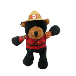 "Magnet - 4.5"" RCMP Black Bear"