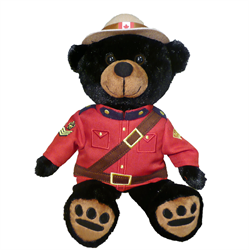 "11"" RCMP Sergeant Black Bear"