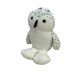 Zipper Pull - Snowy Owl