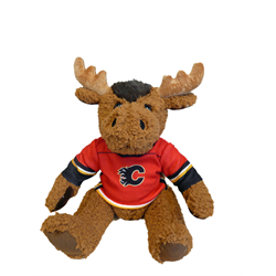 """10"""" Curly Critter Moose - Calgary Flames"""