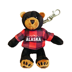 Zipper Pull - Black Bear - ALASKA & MTN Red Jack
