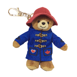 "Zipper Pull - 4.5"" Paddington Blue Jacket"