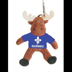 Zipper Pull- Moose - QUEBEC